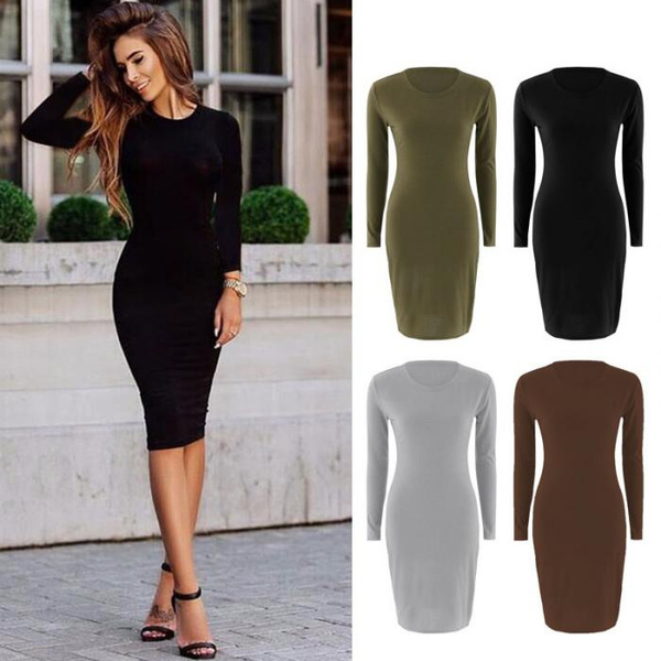 dressesforwomen, Long Sleeve, Spring, Dress