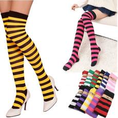 stripedstocking, dresssock, colorfulstocking, Colorful