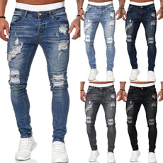jeansformen, Fashion, men's jeans, rippedjean