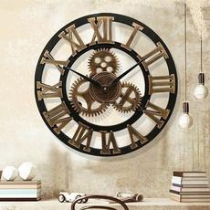 gearhandmade, wallclockdecor, digitalwallclock, Clock