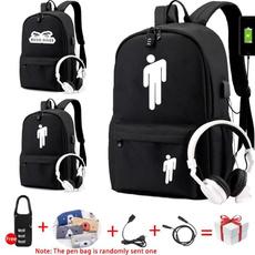 School, usb, Backpacks, Bags