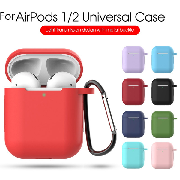 Shockproof Silicone Cover Cases For Apple Airpods Waterproof Box