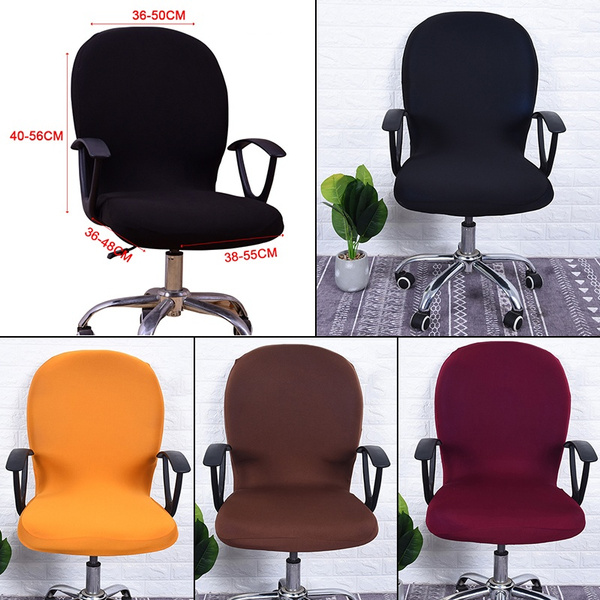 Prime Spandex Chair Cover Office Chair Dustproof Covers Stretch Rotate Swivel Chair Protector Covers Pabps2019 Chair Design Images Pabps2019Com