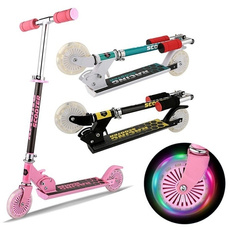 led, adjustableheightscooter, kidsscooter, Children's Toys