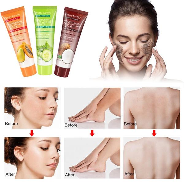 2019 Face Scrub Removal Peeling Gel Facial Exfoliator Exfoliating