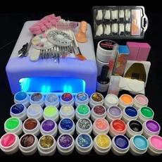 Lamp, uv, nail tips, Beauty
