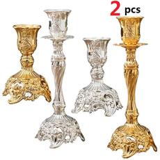 Home Decor, Wedding Supplies, metalliccandlestick, ceremonyevent