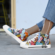 casual shoes, graffitishoe, Sneakers, Fashion