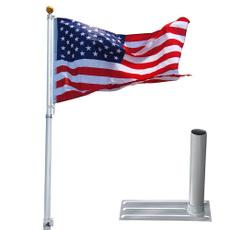 16gaugeflagpole, Fashion, Aluminum, flagpole
