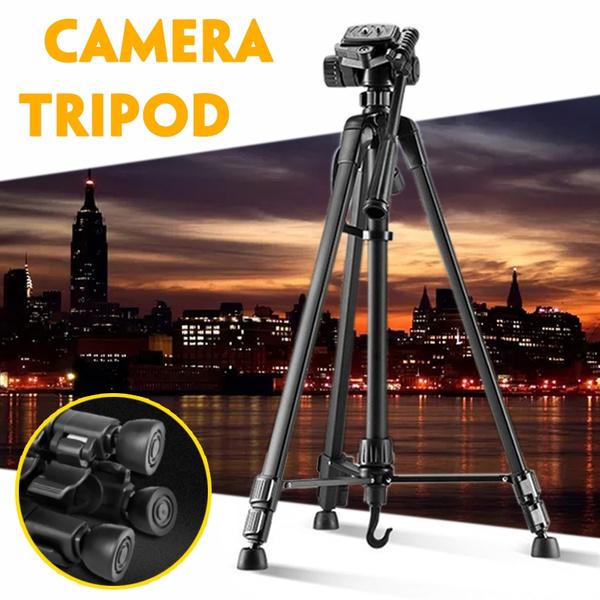 New 360° Professional Travel Tripod Digital Camera Camcorder Video Tilt Pan Head