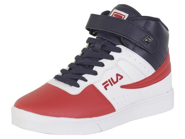 Fila Men's Vulc 13 MP Fila RedWhiteFila Navy Sneakers Shoes