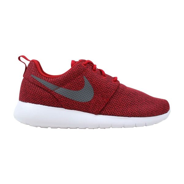 Nike Roshe One Gym RedCool Grey Anthracite 599728 608 Grade School