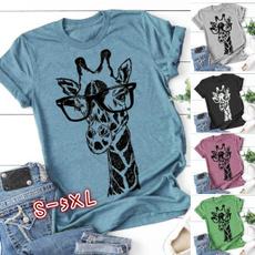 Summer, Plus Size, Cotton T Shirt, summer t-shirts