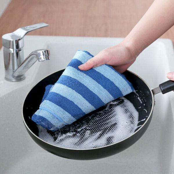 Dishcloth Microfiber Kitchen Towel For Window Rags Glasses Washing Dish Towels