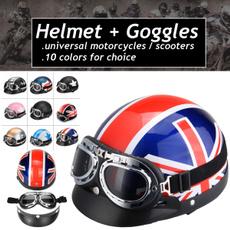harleyhalfhelmet, Goggles, Sports & Outdoors, helmetgoggle