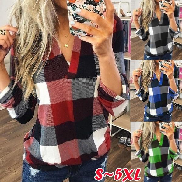 blouse, fashion women, Plus Size, Shirt