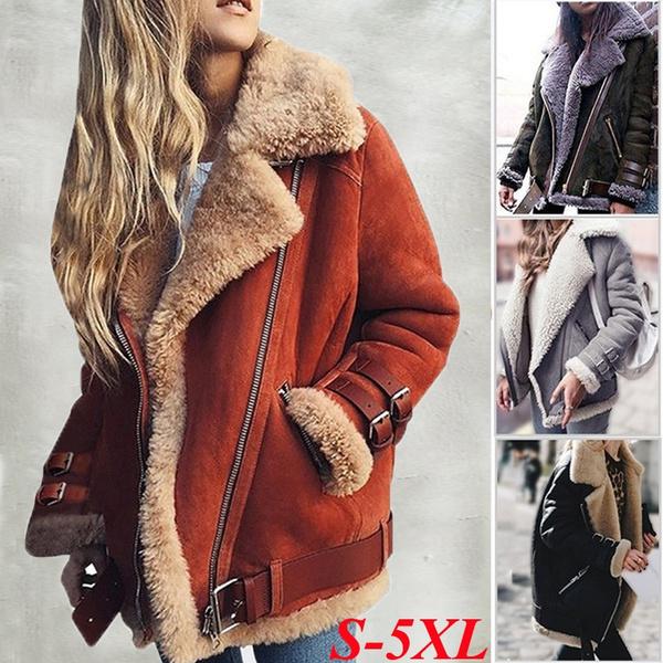 fur coat, Plus Size, Women Jacket, Women's Fashion