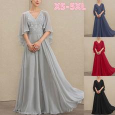 Fashion, Chiffon Dresses, A-line, motherofthebridedre
