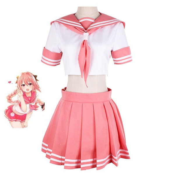 New Fate//Grand Order Astolfo Sailor Suit Dress Cosplay Costume