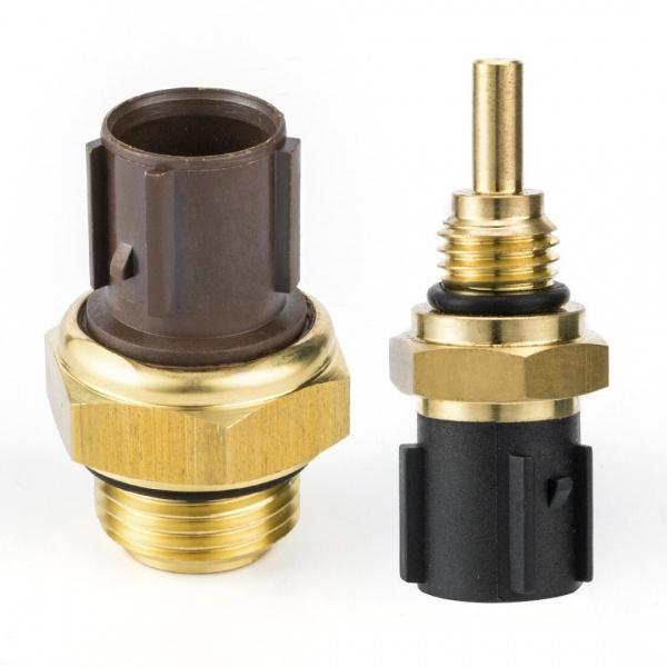 2PCS OEM Coolant Temperature Sensor /& Switch For HONDA CR-V Civic ACURA ISUZU