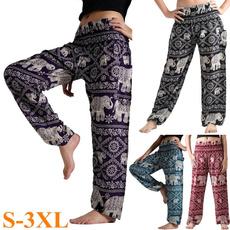 boho, harem, yoga pants, Yoga