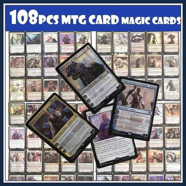 photo relating to Mtg Printable Proxies known as Most current Fashion 108desktops Planeswalker Fastened Proxy Card MTG Card Magic Playing cards 108computer systems Incorporates 30 Laser Tags