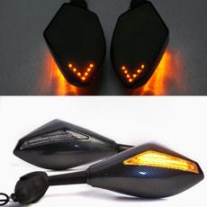 sidemirror, led, motorcyclesidemirror, lights