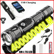 Flashlight, Rechargeable, led, Hunting