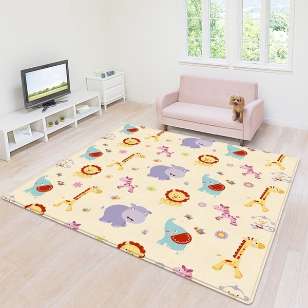 Double Sided Baby Crawling Mat Kids