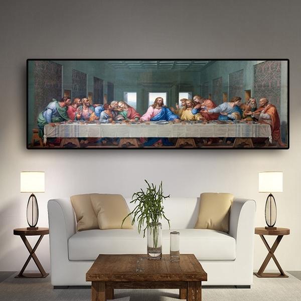 Last Supper By Leonardo Da Vinci Famous