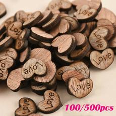 decoration, Love, Corazón, Wooden