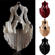 gowns, GOTHIC DRESS, Lace, Dress