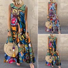 bigswing, Sleeveless dress, printeddres, vest dress