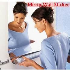 Decor, selfadhesivemirror, Jewelry, Wall Decals & Stickers
