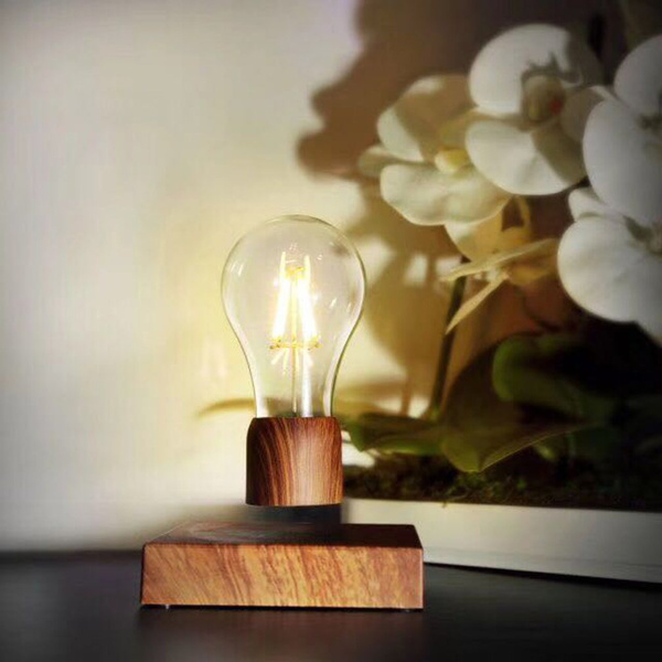 Magnetic Levitating Light Bulb Floating Lamp Home Office Room Small Night Light Decoration