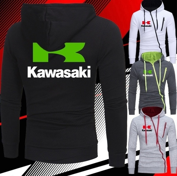 Kawasaki Logo Mens Hoodies Sweater