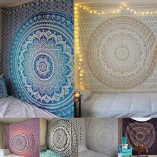 Yoga, mandalatapestry, Home & Living, beachshawl