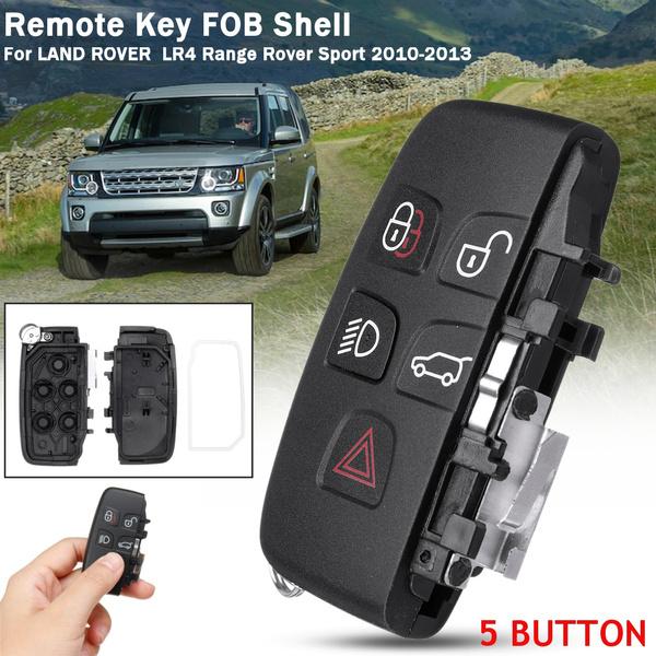 Land Rover LR4 Range Rover Sport Evoque 5 Button Remote Key Shell Case Fob