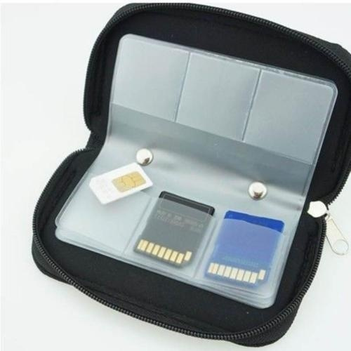 1pcs Portable Memory Card Storage Bag Carrying Pouch Case Holder Wallet For Sd Sdhc Mmc Micro Bags Container Organizer