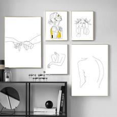 art, Decoración de hogar, Modern, Amarillo