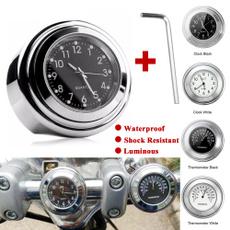 dial, motorbike, Aluminum, handlebarclock