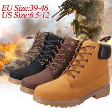 ankle boots, botashombre, Plus Size, Leather Boots