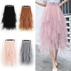 adulttulleskirt, pink, pinkskirt, Waist
