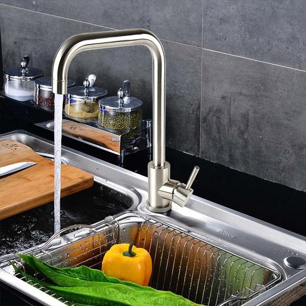 """Wasserhahn 3//8 /"""" Küchenarmatur Einhebelmischer Spültischarmatur Armatur Küche"""