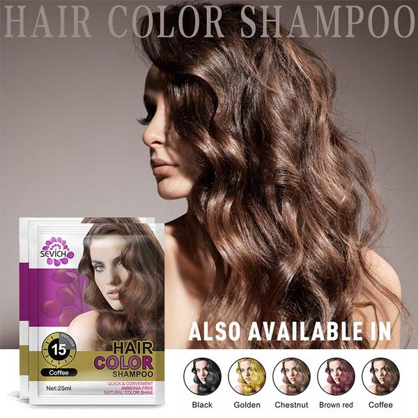 1 Pc Hair Shampoo Hair Colour Cream Chestnut Hair Color Dye Cream Natural  Hair Dye Temporary Paint for Hair