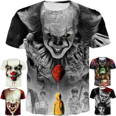 clowntshirt, clowntshirtmen, Shirt, Sleeve