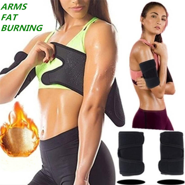 2pcs Arm Slimming Wrap Burn Fat Arm Shaper Sagging Flabby Arms Sleeve Anti Cellulite Sport Arms Protect Sweat Band Wish