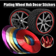 carstylingstrip, tireguardline, carwheelsticker, Colorful