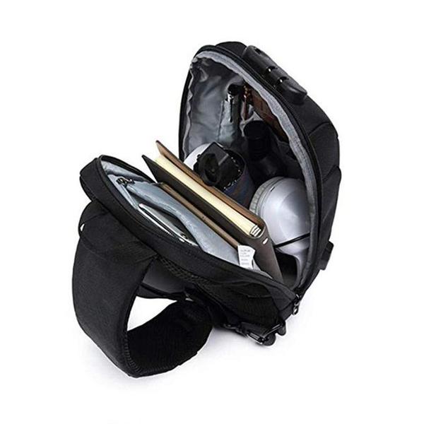 Shoulder Bags, usb, Casual bag, Messenger Bags