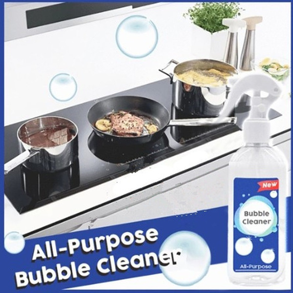 Multi Purpose Kitchen Grease Cleaner Foam Cleaner All Purpose Bubble Cleaner